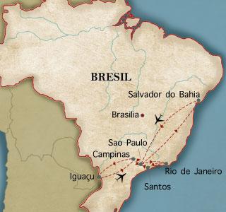 Notre premier voyage au Brésil, c'était en 1982