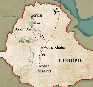 Notre premier voyage en Ethiopie, janvier 1984