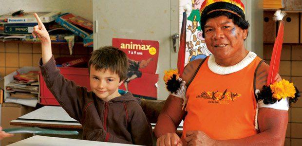 Pirakuma visite l'école de mon petit-fils Raphaël