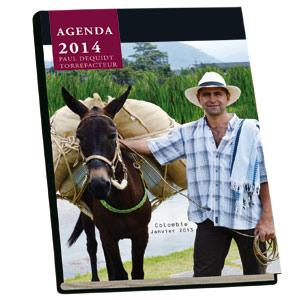 Agenda de bureau Paul Dequidt Torréfacteur - Edition 2014