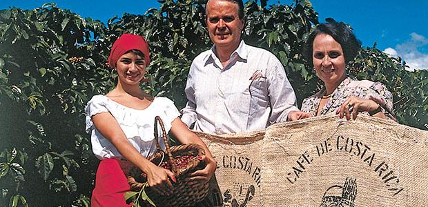A la plantation de café Tournon