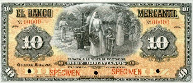 Billet de banque de ma collection personnelle