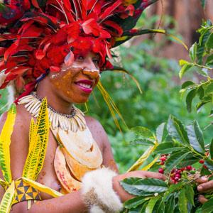 Lala de Goroka - Papouasie