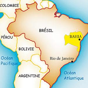 Situation Bahia au Brésil