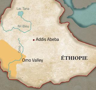La vallée de l'Omo en Ethiopie