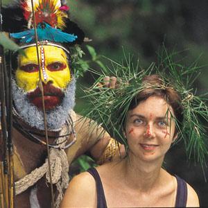 Cécile Dequidt et Papou Huli