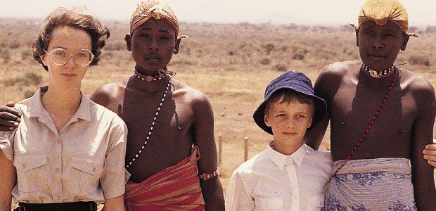 Cécile (13 ans) et François (10 ans) chez les Samburu