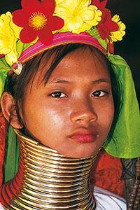 Jeune fille Padaung