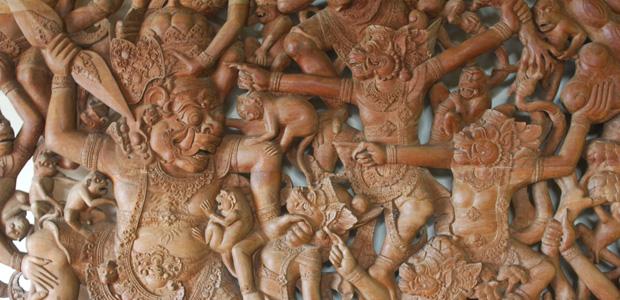 L'armée des singes du Rãmãyana