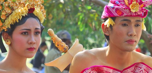 Procession à Bali