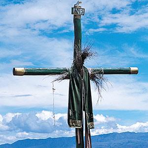 Croix sur les hauteurs du Rio Apurimac