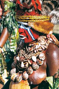 Dame Kula au Sing SIng de Goroka