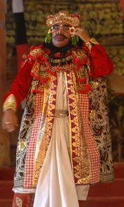 Danseur du Ramayana