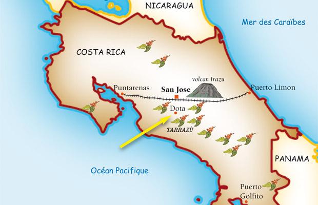 Le café du Costa Rica