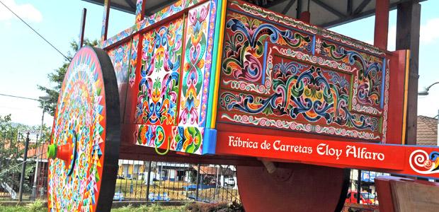 A la fabrique de carretas Eloy Alfaro