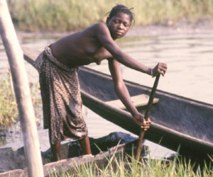 Scène de vie quotidienne au Togo