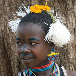 Jeune fille Maalé