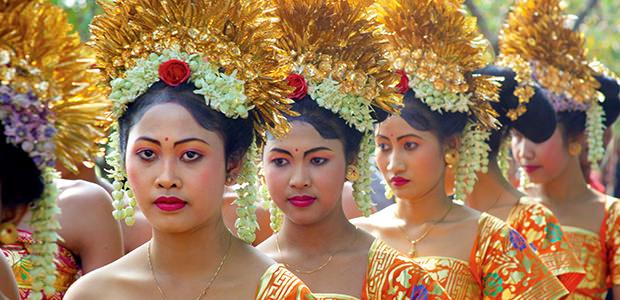 Procession à Bali...