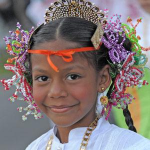 Le Tembleque, coiffe traditionnelle
