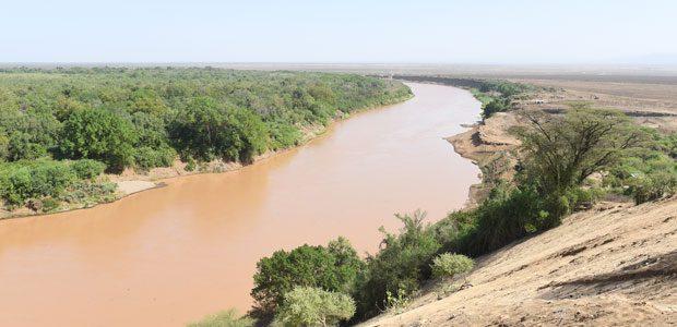 Le fleuve Omo en Ethiopie