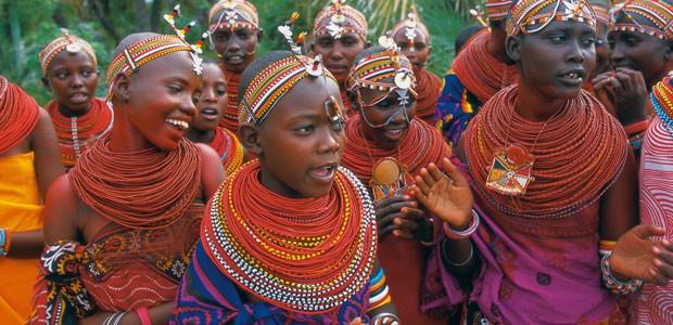 Jeunes filles Samburu
