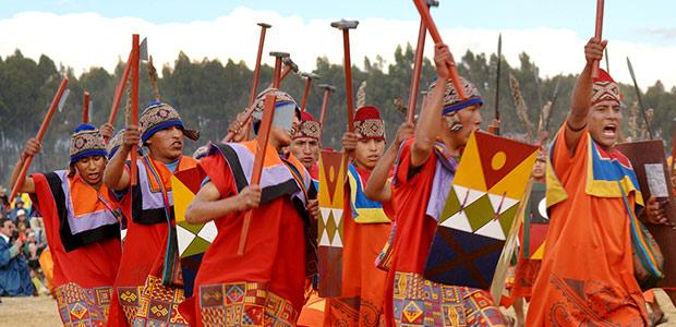 Guerriers de l'empire, des Andes enneigées à l'Amazonie tropicale