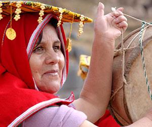 Le tynia, tambour Inca