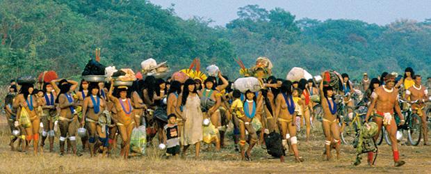 Les tribus invitées arrivent