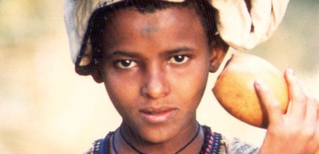 Jeune fille Amhara
