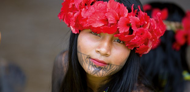 Jeune Indienne Embera