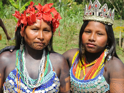 Indiennes Embera