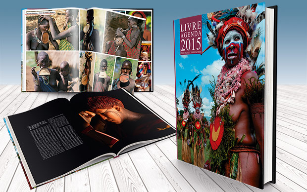 Livre agenda 2015 Paul Dequidt Torréfacteur