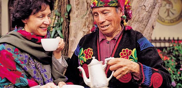 Mania déguste l'arabica du Guatemala