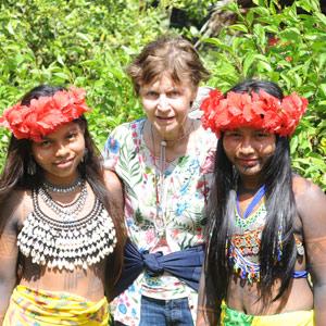 Mania chez les Indiens Embera