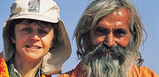 Mania et notre ami indien