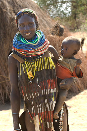 Chez les Nyangatom en Ethiopie