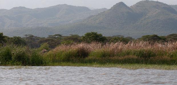 Les rives du Lac Chamo, un paysage paisible et somptueux