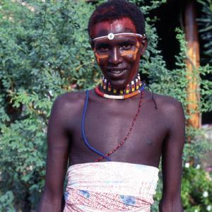 Jeune homme Turkana