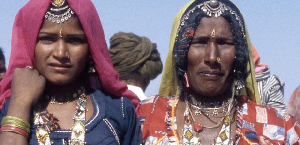 Dames des tribus du désert du Thar