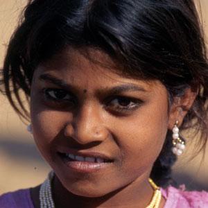 Dame des tribus du désert du Thar