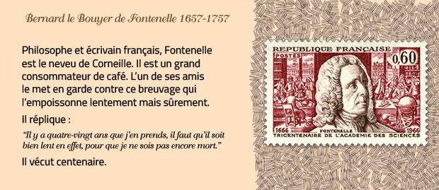 Fontenelle, grand amateur de café