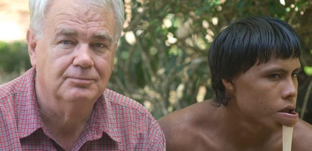 Paul et Indien Zo'é en Amazonie brésilienne - septembre 2008