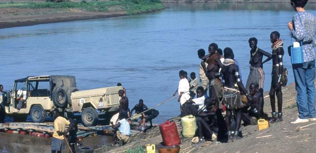 La fantastique traversée du fleuve Omo