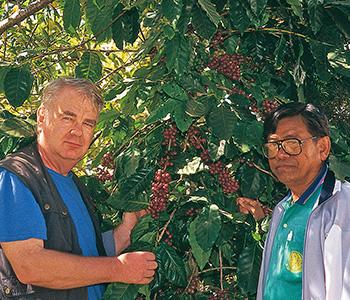 Entre spécialistes du café