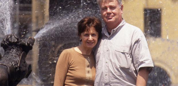 Paul et Mania Dequidt au Pérou en avril 2001