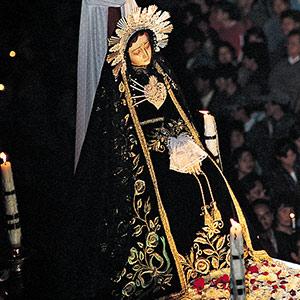 Statue de la Virgen Dolorosa