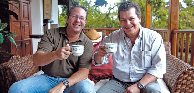 Kaï Godeke et Ricardo Zelaya