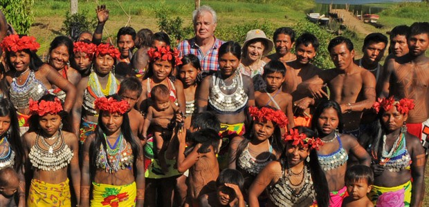 Paul et Mania parmi les Indiens Embera